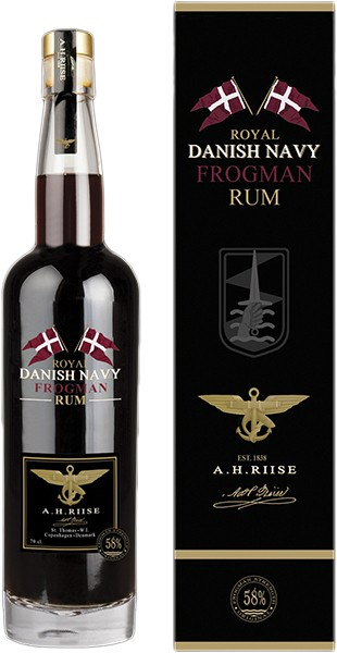 A.H. Riise Frogman Royal Navy Rum 0,7 l