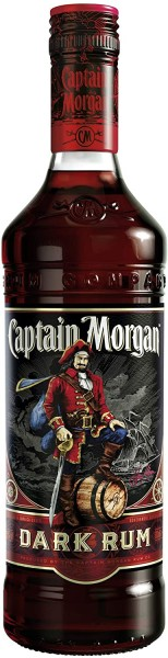 Captain Morgan Rum Black 0,7 l