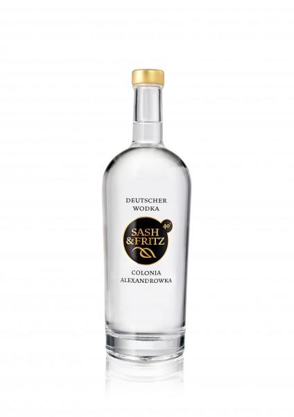 Sash&Fritz 40% Wodka 1,0l