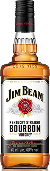 Jim Beam Burbon 40% 1.0 l