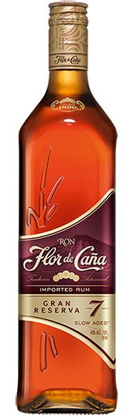 Flor de Caña · Rum Gran Reserva 7 years old 40% 0,7 l