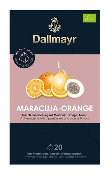 Dallmayr Maracuja - Orange Bio Früchteteemischung 20x 4,0 g