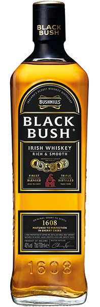 Bushmills Black Bush Irish Whiskey 40% 0,75l