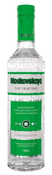 VODKA MOSKOVSKAYA 1,0l