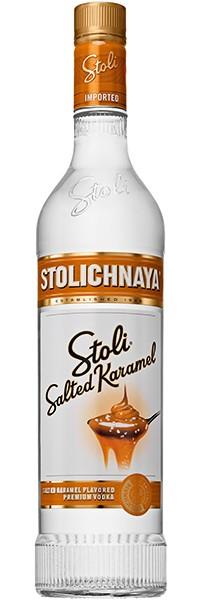 Stolichnaya Stoli Salted Karamel Vodka, 37,5% 0,7l