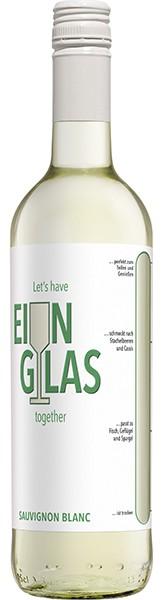Ein Glas Sauvignon Blanc 0,75 l