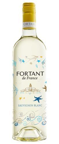 Fortant de France Sauvignon Blanc Serigraphiert 0,75