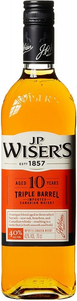 J.P.Wiser´s 10 J. Triple Barrel 0,7 l