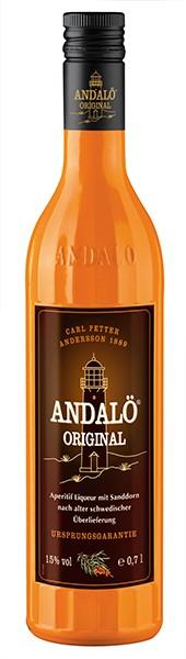 Andaló Sandornlikör 15% 0,7 l