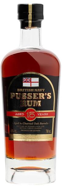 Pusser's Rum 15 Years 40% 0,7 l