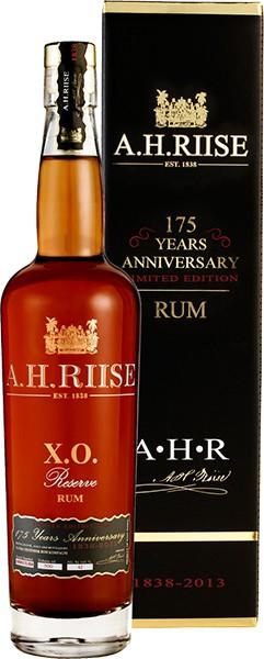 A. H. Riise X.O. Reserve Rum 175 Anniversary 0,7 l