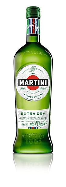 Martini Extra Dry 15 % 1.0 l