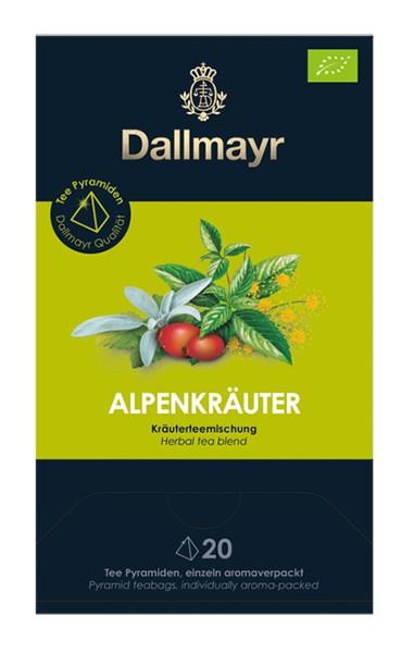Dallmayr Alpenkräuter Bio Kräuterteemischung 20x2,5g